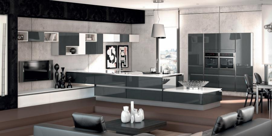 cuisines design style cuisine. Black Bedroom Furniture Sets. Home Design Ideas