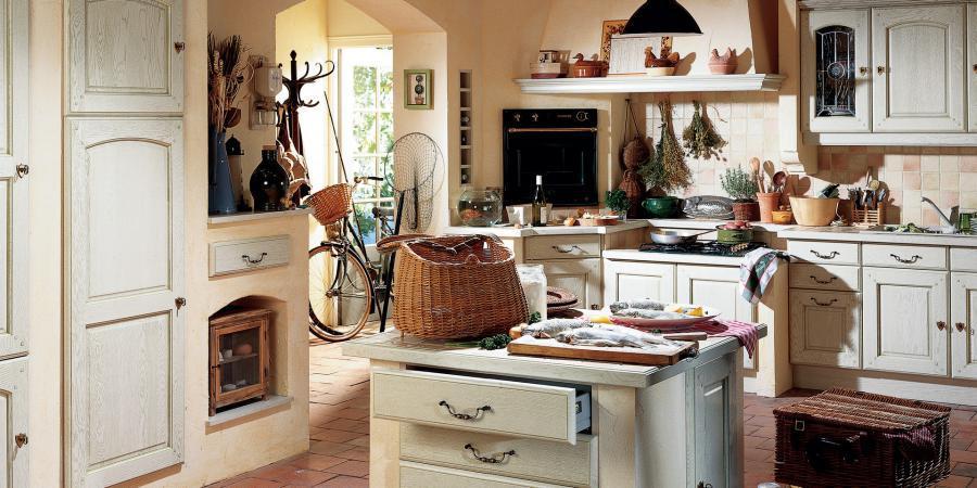 Cuisines rustiques ou proven ales style cuisine - Cuisines rustiques ...